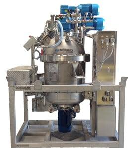 Sofraden : mélangeurs industriels à votre disposition dans notre centre d'essais