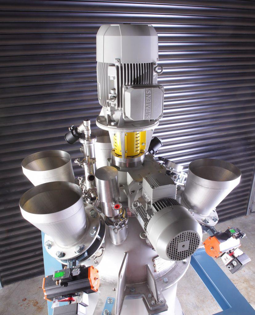 Disperseur SOFRAMIX pour mélangeur
