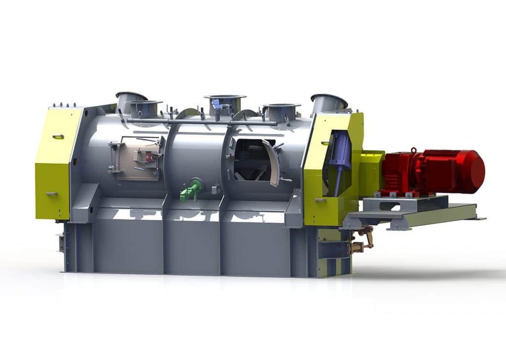 Sofraden, réacteurs-disperseurs industriels