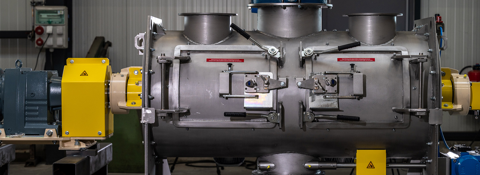 Sofraden, Fabricant de mélangeurs industriels