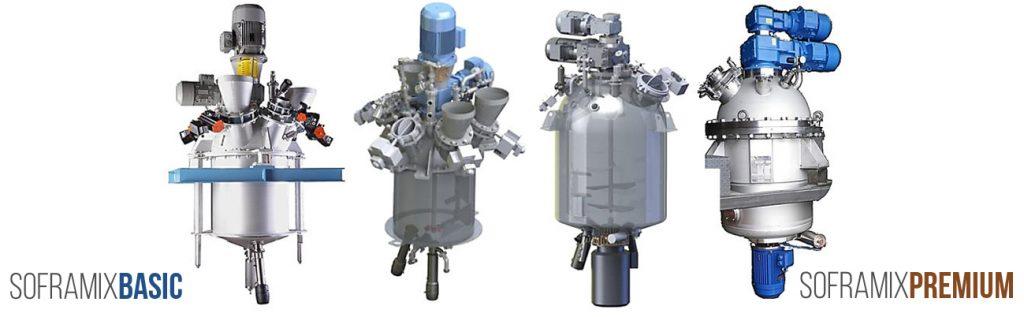 Sofraden : Mélangeurs réacteurs/disperseurs